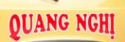 Quang Nghi