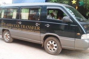 Asia Van Transfer Regional 14pax outside