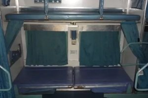 Indian Railways SL - Sleeper Class outside
