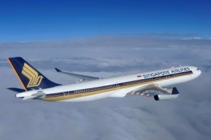 Singapore Airlines Economy outside