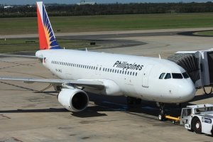 Philippine Airlines Economy outside